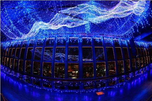 東京タワーで七夕特別企画 LED13万個の「天の川イルミネーション」が6月1日~8月31日まで