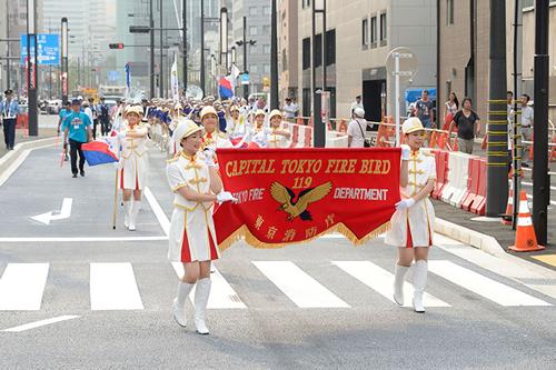 オープニングパレード 東京消防庁音楽隊
