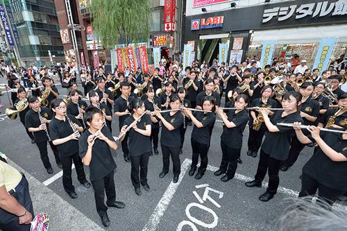 オープニングパレード 東海大学付属高輪台高等学校吹奏楽部