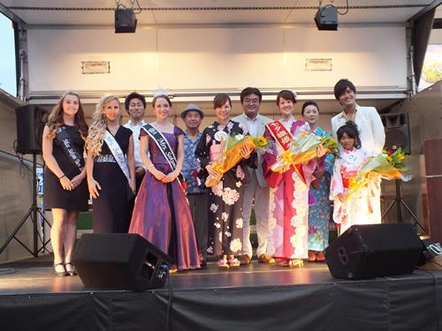 毎年人気のイベント「福生七夕織姫コンテスト」