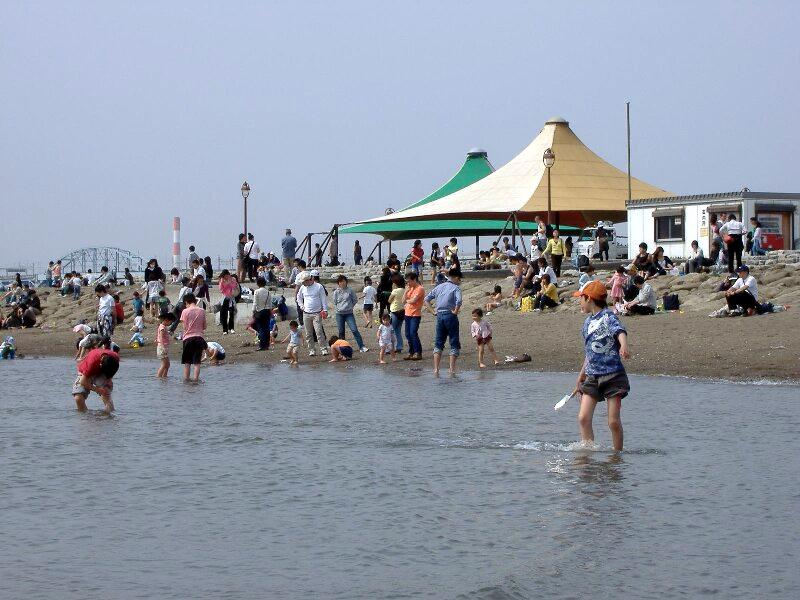 東京に海水浴場が復活!今年の夏から「葛西海浜公園」の西なぎさでスタート(海水浴場無料)
