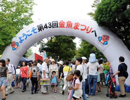 「江戸川区金魚まつり」 過去の開催風景
