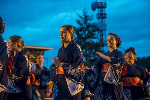 NAF厚木盆踊りチーム