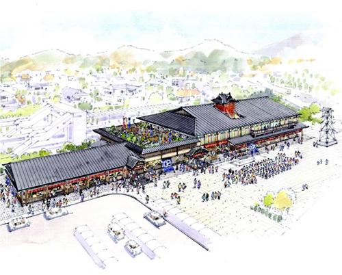 西武秩父駅に複合型温泉施設が2017年春オープン!露天風呂や内湯、岩盤浴のほか飲食や物販エリアも