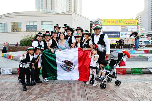 在日メキシコ人協会の皆さん