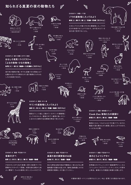 上野動物園で今年も「真夏の夜の動物園」が2015年8月8日(土)~8月16日(日)に開催