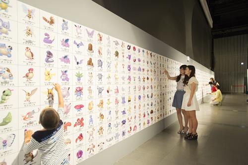 第2研究室 ~ポケモンコレクションルーム~ これまでに発見された700種以上のポケモンが全て大集合!