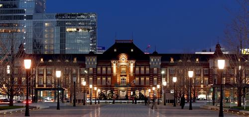 東京駅丸の内駅舎の中に位置する東京ステーションホテル