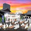 丸亀製麺うどん、7/31、8/1に芝・増上寺で試食祭り!氷の器でぶっかけうどんを2,000食提供