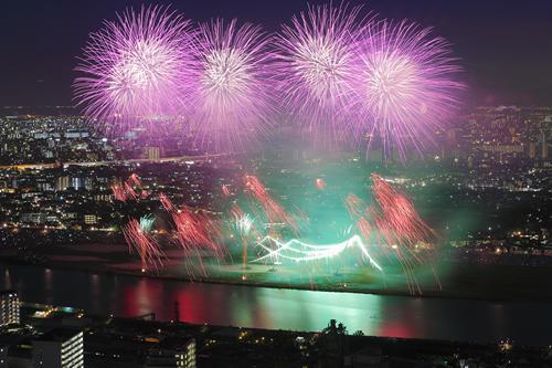 オープニングは5秒間に1,000発の迫力!「第40回 江戸川区花火大会2015」が8月1日(土)に開催