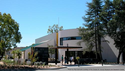 スヌーピーファンの聖地と言われるシュルツ美術館(米カリフォルニア州) Photo by Rick Samuels courtesy of the Charles M. Schulz Museum and Research Center