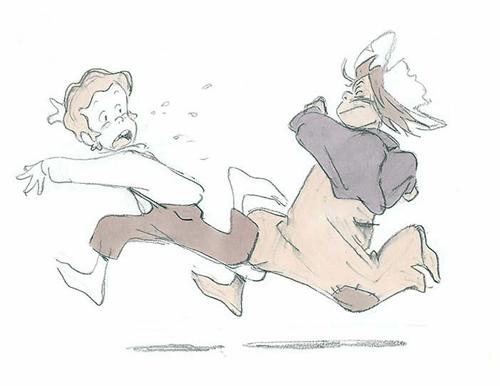 「トム・ソーヤーの冒険」設定画 関修一