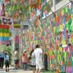 日本一巨大な竹飾りが完成!関東三大七夕祭りのひとつ「狭山市入間川七夕まつり」が8月1日、2日に