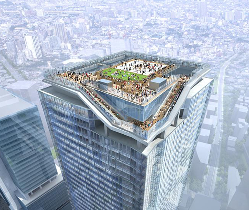 渋谷再開発・超高層ビルの屋上に全面ガラス張りの日本最大級「屋外展望施設」が登場!