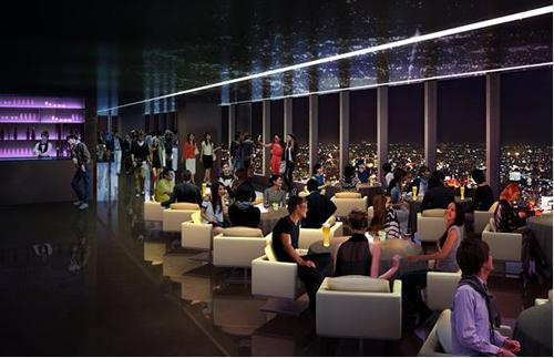 屋内に作られる展望施設イメージ 東京の夜景の新名所になりそうだ