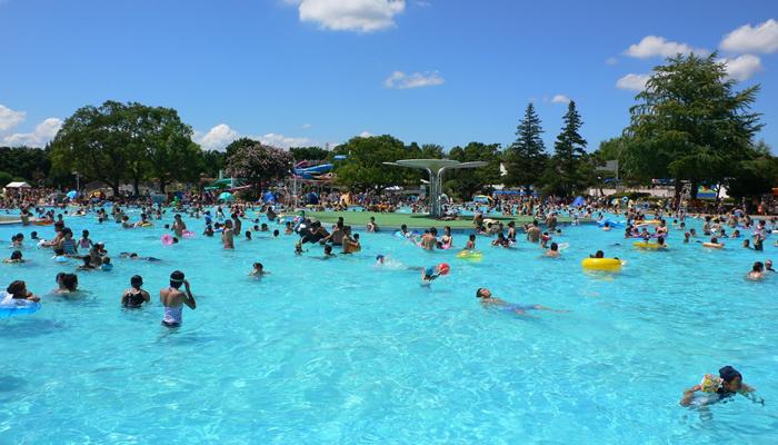 「国営昭和記念公園レインボープール」が2015年7月18日オープン!