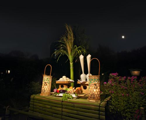 向島百花園で江戸時代から続く伝統行事「月見の会」を2015年9月26日~28日に開催
