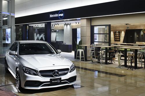 「ギャラリースペース」 メルセデス・ベンツの最新車種や希少車種など話題のモデルを常時展示