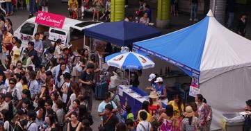 昨年お台場会場には16万人以上が来場した人気イベント