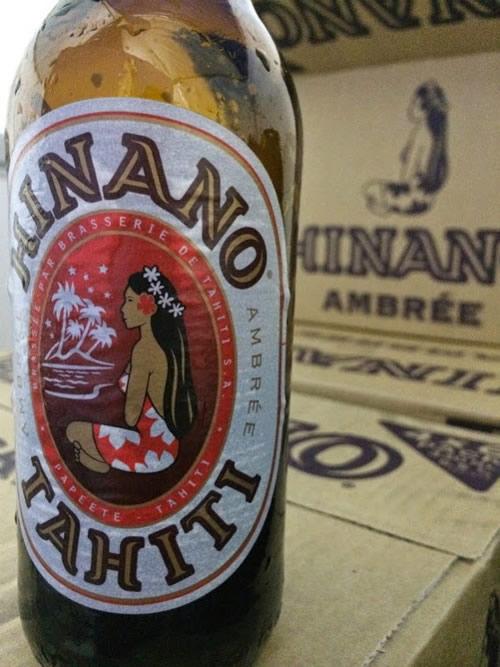 タヒチのビール「ヒナノビール」