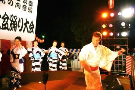 都内最大級の盆踊り