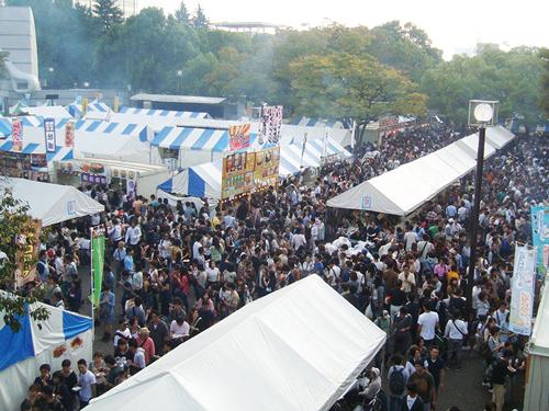 「屋外」で開催される圏内最大級の「北海道物産イベント」