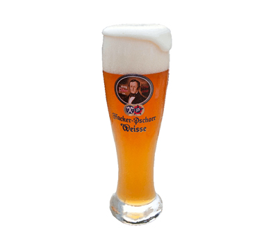 本場ドイツ公式醸造所の白ビール ハッカー・プショール ヘーフェヴァイスビア