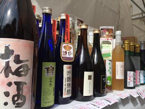 日本全国の酒蔵が作った「梅酒」160種類以上が集合