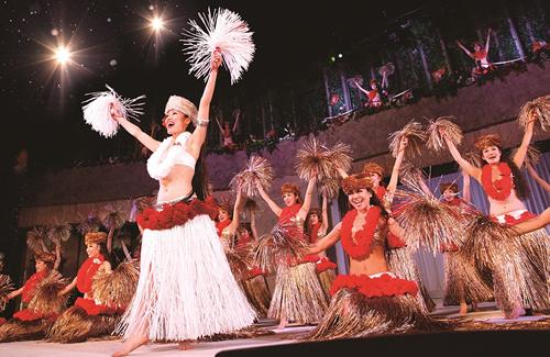 スパリゾートハワイアンズダンシングチームによる特別公演