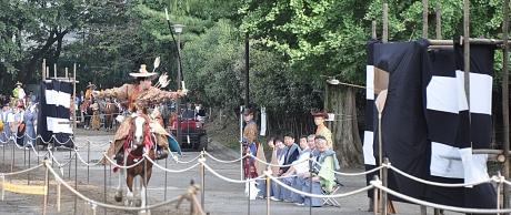 高田馬場 流鏑馬 ©一般社団法人新宿観光振興協会