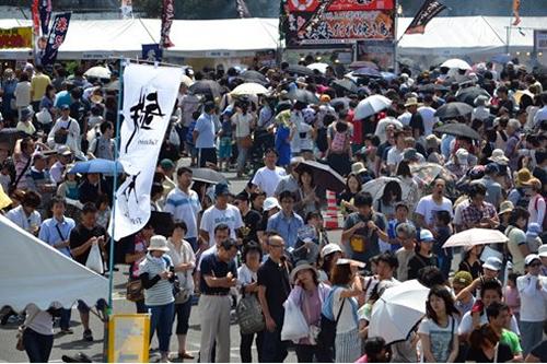 毎回、3~5万人が来場する人気イベント