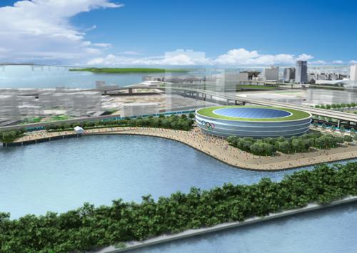 東京五輪の新設会場「有明アリーナ」 大会終了後の施設運営者に東京ドームが決定