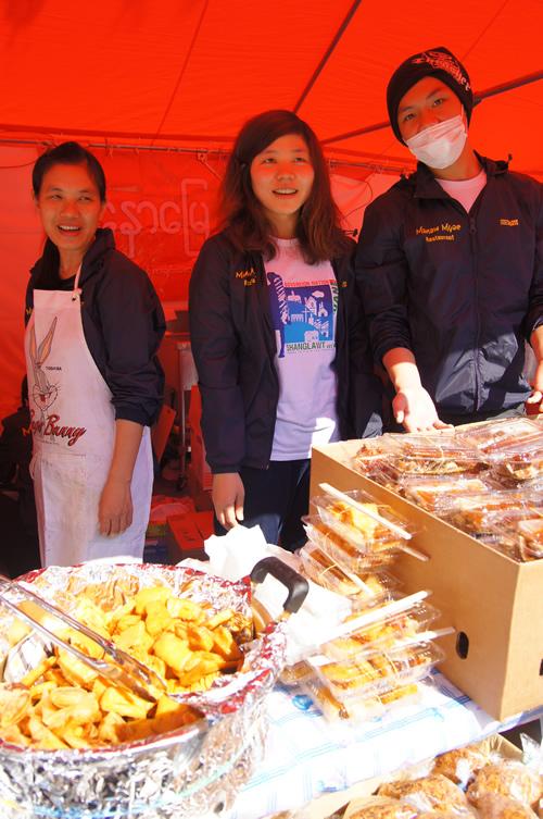 首都圏のおもにミャンマー人店主によるレストランが出店。本場の味を楽しめる