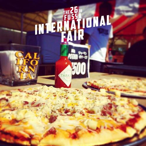 美味しそうなピザ アメリカならでは!