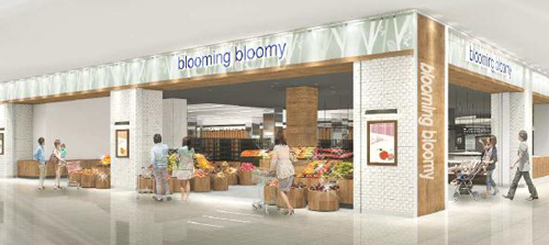 ーパーマーケット 「blooming bloomy by Inageya」