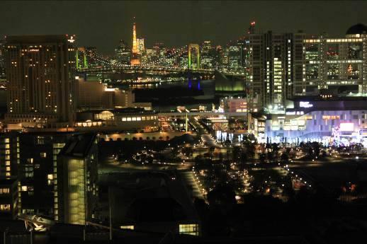 東京湾からの夜景 ロマンチック!