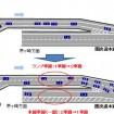 慢性渋滞の海老名JCT合流地点・東名道上り線 → 圏央道(八王子方面)が1車線から2車線に