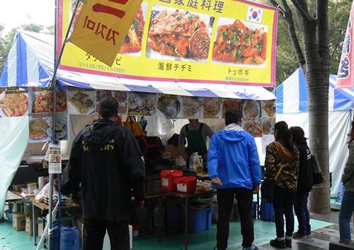 韓国家庭料理のチジミ、トッポギなど