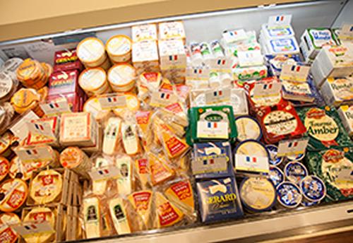 各国の特徴が出ているチーズ
