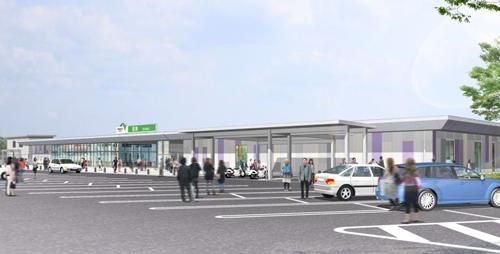 圏央道「菖蒲PA」に商業施設設(フードコート、ショッピング) が2015年10月31日(土)オープン!