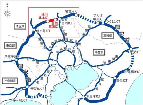 菖蒲PA位置図