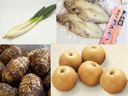 地域の生産者の新鮮野菜や果物などの農産物を販売