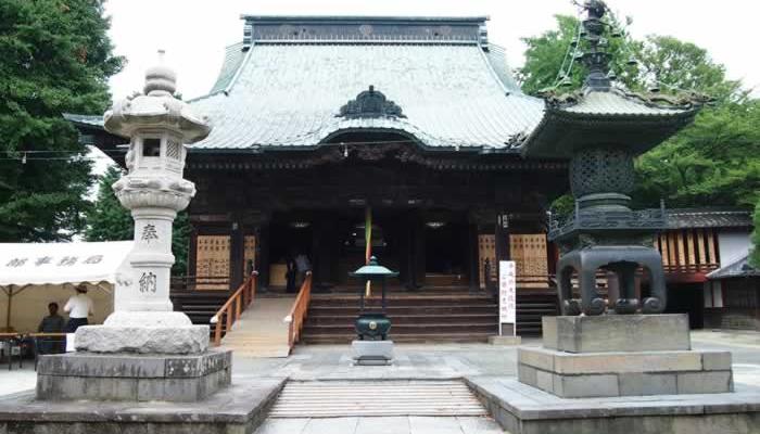 不動ヶ岡不動尊 總願寺(埼玉県加須市)