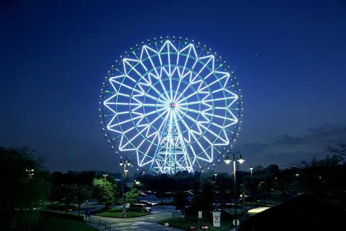 葛西臨海公園の日本一の大観覧車が2015年大晦日の年越しカウントダウン&オールナイト営業