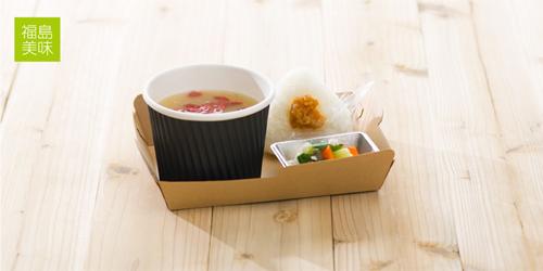福島美味おにぎり CAFE ~世界一の新米おにぎりと天然醸造の伝統みそ汁~