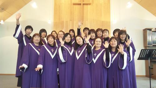 昭島・羽村で活動しているFavored Gospel Choir(フェイバードゴスペルクワイア)
