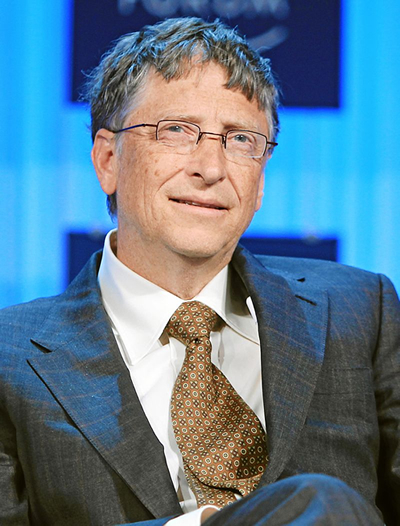 ビル・ゲイツ氏を招いての講演会が12月16日(水)に浜離宮朝日ホールで開催(入場無料)